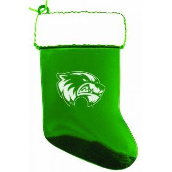 Utah Valley University - Chirstmas Holiday Stocking Ornament - Green
