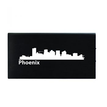 Quick Charge Portable Power Bank 8000 mAh - Phoenix City Skyline