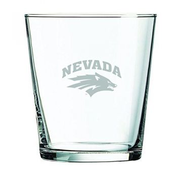 University of Nevada -13 oz. Rocks Glass