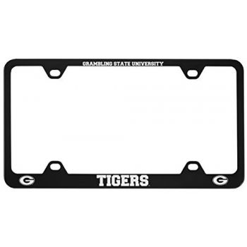 Grambling State University-Metal License Plate Frame-Black