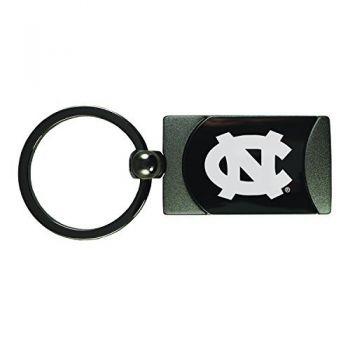University of North Carolina-Two-Toned Gun Metal Key Tag-Gunmetal