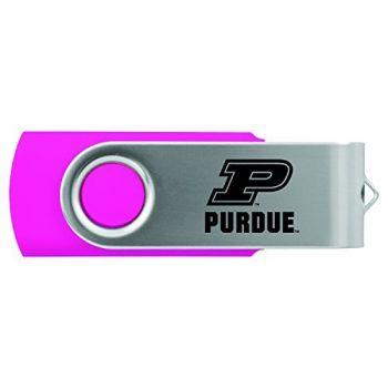 Purdue University -8GB 2.0 USB Flash Drive-Pink