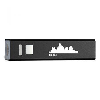 Quick Charge Portable Power Bank 2600 mAh - Dallas City Skyline