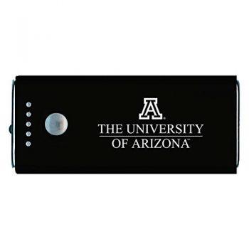 Arizona Wildcats -Portable Cell Phone 5200 mAh Power Bank Charger -Black