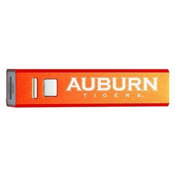 Auburn University - Portable Cell Phone 2600 mAh Power Bank Charger - Orange