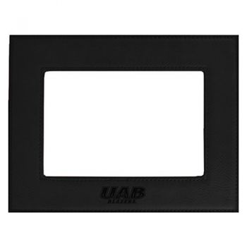 University of Alabama at Birmingham-Velour Picture Frame 4x6-Black