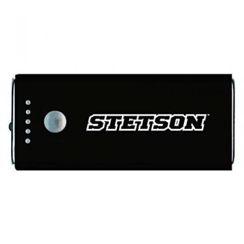 Stetson University -Portable Cell Phone 5200 mAh Power Bank Charger -Black