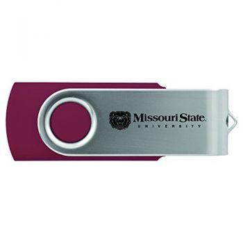 Missouri State University -8GB 2.0 USB Flash Drive-Burgundy