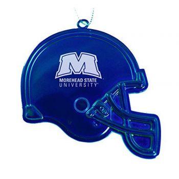 Morehead State University - Christmas Holiday Football Helmet Ornament - Blue