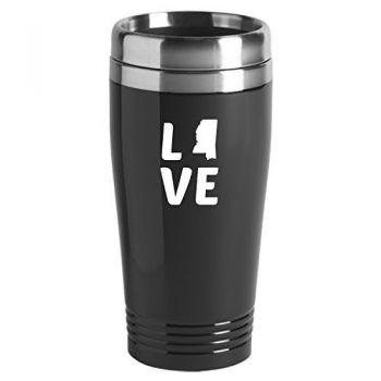 16 oz Stainless Steel Insulated Tumbler - Mississippi Love - Mississippi Love