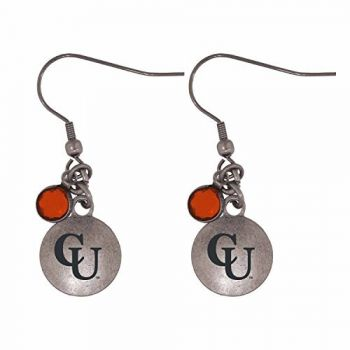 Campbell University-Frankie Tyler Charmed Earrings