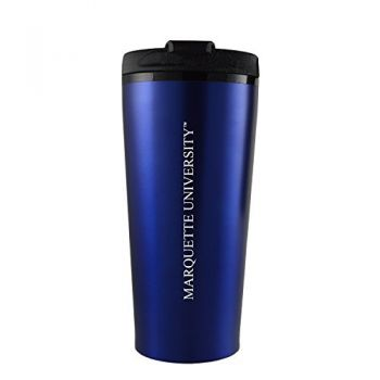 Marquette University-16 oz. Travel Mug Tumbler-Blue
