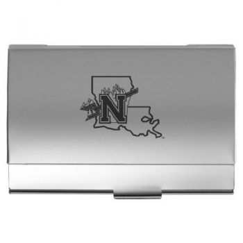 Northwestern State University - Pocket Business Card Holder