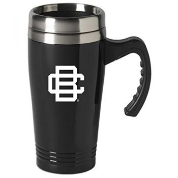 Bethune-Cookman University-16 oz. Stainless Steel Mug-Black