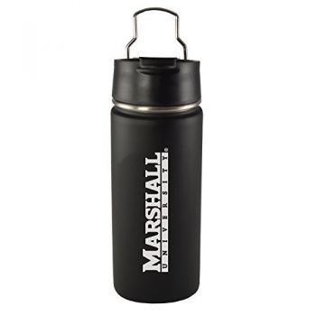 Marshall University -20 oz. Travel Tumbler-Black