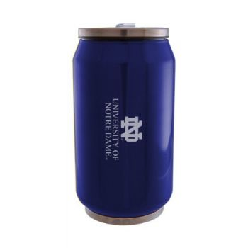 University of Notre Dame - Stainless Steel Tailgate Can - Blue