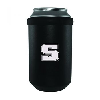 Slippery Rock University -Ultimate Tailgate Can Cooler-Black