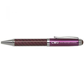 Central Washington University -Carbon Fiber Mechanical Pencil-Pink