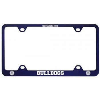 South Carolina State University -Metal License Plate Frame-Blue