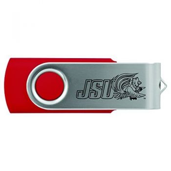 Jacksonville State University-8GB 2.0 USB Flash Drive-Red