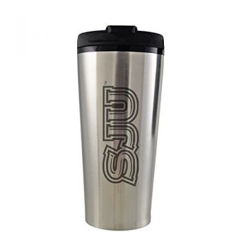 Saint Joseph's university -16 oz. Travel Mug Tumbler-Silver