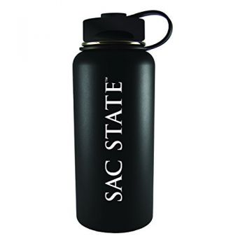 California State University -32 oz. Travel Tumbler-Black