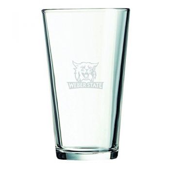 Weber State University -16 oz. Pint Glass