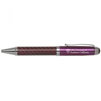 University of Southern California-Carbon Fiber Mechanical Pencil-Pink