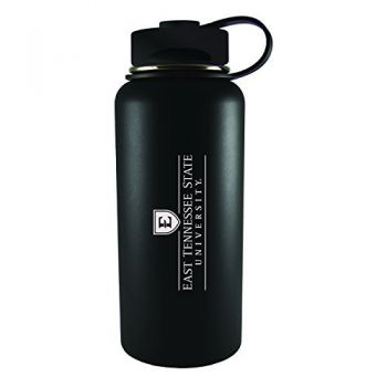 East Tennessee State University -32 oz. Travel Tumbler-Black