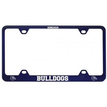 Gonzaga University -Metal License Plate Frame-Blue