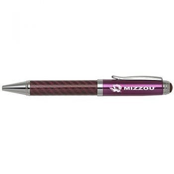 University of Missouri -Carbon Fiber Mechanical Pencil-Pink