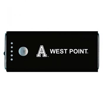 United States Military Academy -Portable Cell Phone 5200 mAh Power Bank Charger -Black