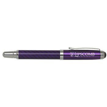 Lipscomb University - Carbon Fiber Rollerball Pen - Purple