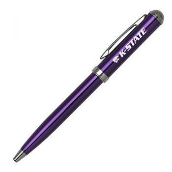 Kansas State University - Click-Action Gel pen - Purple