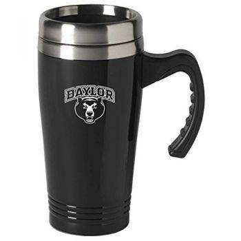 Baylor University-16 oz. Stainless Steel Mug-Black