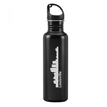 24 oz Reusable Water Bottle - Louisville City Skyline