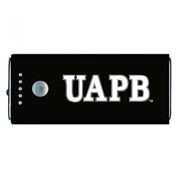 University of Arkansas at Pine Buff -Portable Cell Phone 5200 mAh Power Bank Charger -Black