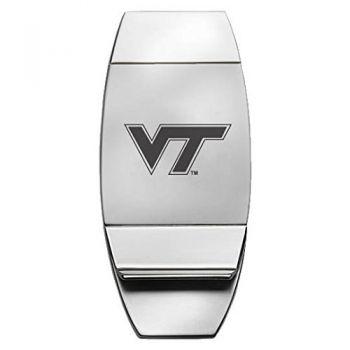 Virginia Tech - Two-Toned Money Clip
