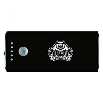University of Central Arkansas-Portable Cell Phone 5200 mAh Power Bank Charger -Black