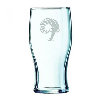 The University of Rhode Island-Irish Pub Glass