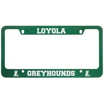 Loyola University Maryland-Metal License Plate Frame-Green