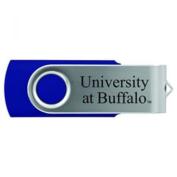 University at Buffalo-The State University of New York -8GB 2.0 USB Flash Drive-Blue