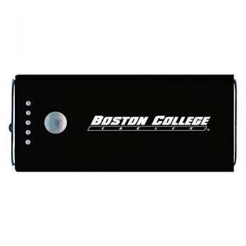 Boston College -Portable Cell Phone 5200 mAh Power Bank Charger -Black