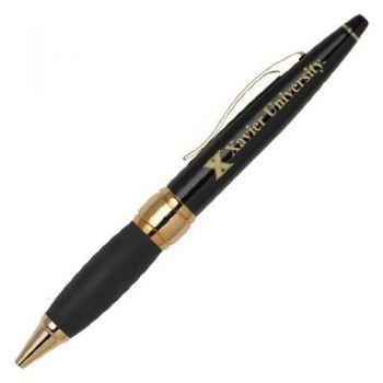 Xavier University - Twist Action Ballpoint Pen - Black