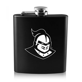 University of Central Florida -6 oz. Color Stainless Steel Flask-Black