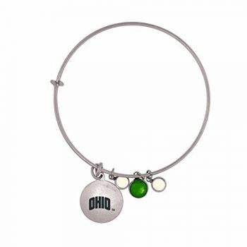 Ohio University-Frankie Tyler Charmed Bracelet