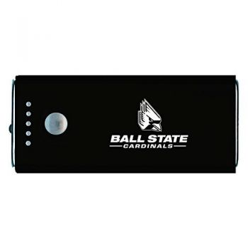 Ball State University -Portable Cell Phone 5200 mAh Power Bank Charger -Black
