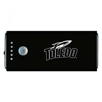 University of Toledo -Portable Cell Phone 5200 mAh Power Bank Charger -Black