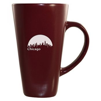 16 oz Square Ceramic Coffee Mug - University of Chicago