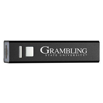 Grambling State University - Portable Cell Phone 2600 mAh Power Bank Charger - Black